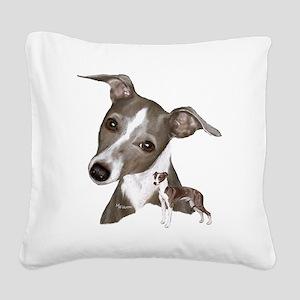 italian1 Square Canvas Pillow