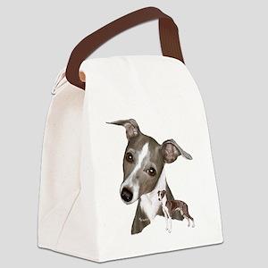italian1 Canvas Lunch Bag