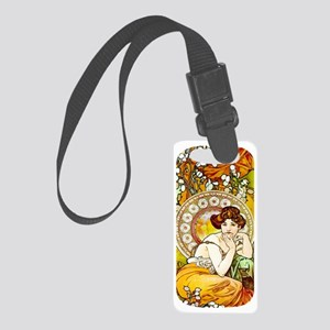 NEXUS- MUCHA TOPAZ Small Luggage Tag