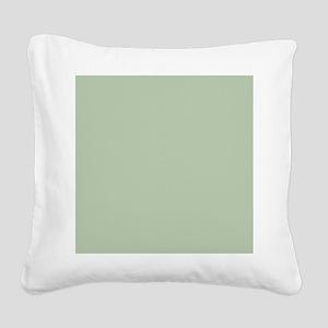 Shower Painted Circles plain  Square Canvas Pillow