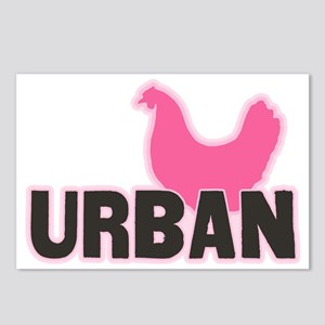 chickenurban Postcards (Package of 8)