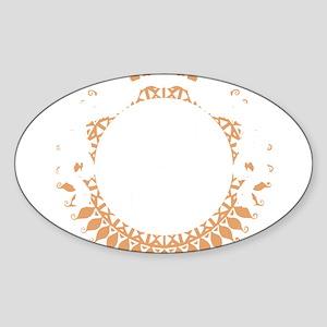 tai24black Sticker (Oval)