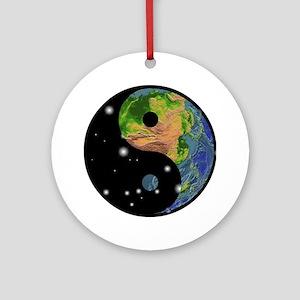tai13colored Round Ornament