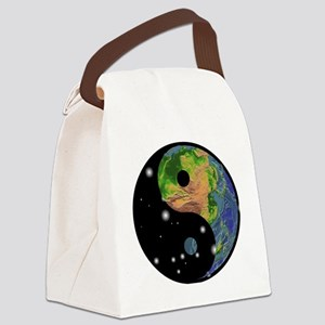 tai13colored Canvas Lunch Bag