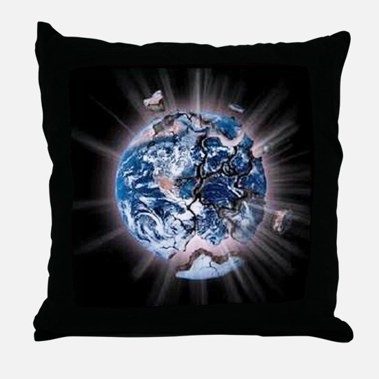 fracking3 2000x2000 trans Throw Pillow