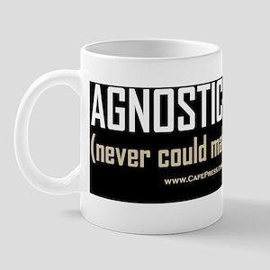 Agnostic Atheist 10x3 Mug