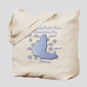 Learned Nebelung Tote Bag