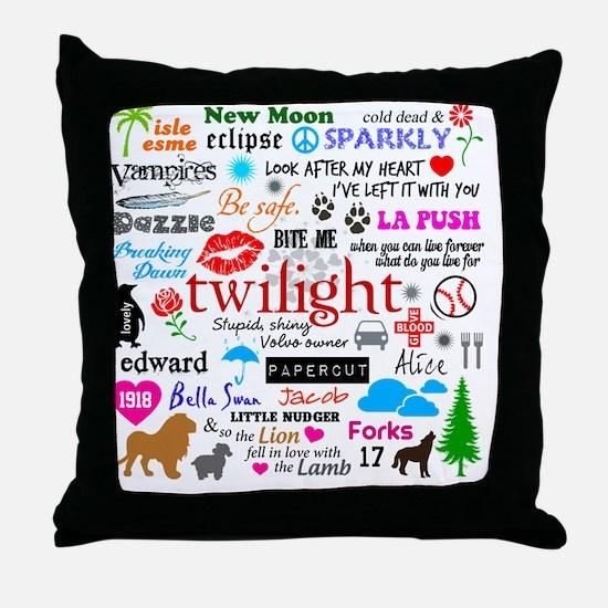 Queen TwiMem v1 Throw Pillow