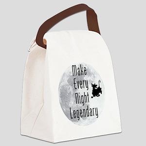 Legendary-Night Canvas Lunch Bag