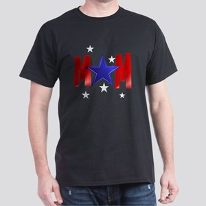 MOM blue star-Trans Dark T-Shirt