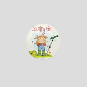 country girl Mini Button