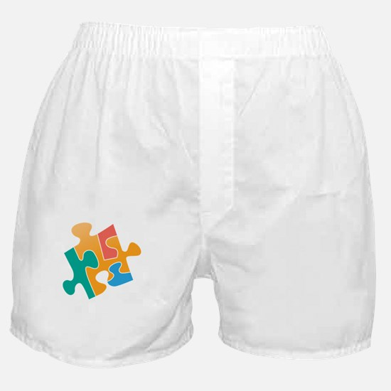 think differently back Boxer Shorts