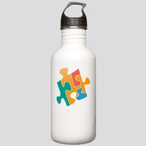 think differently back Stainless Water Bottle 1.0L