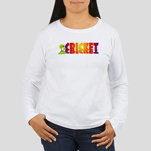 Cricket Women's Long Sleeve T-Shirt