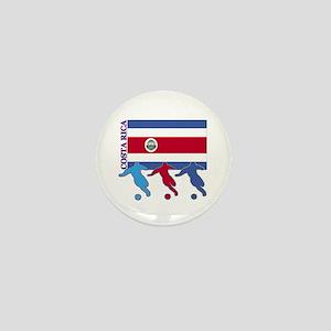 Costa Rica Soccer Mini Button (100 pack)