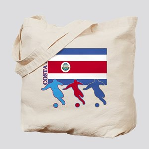Costa Rica Soccer Tote Bag