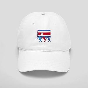 Costa Rica Soccer Cap