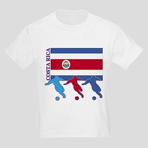 Costa Rica Soccer Kids Light T-Shirt