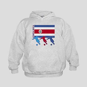 Costa Rica Soccer Kids Hoodie