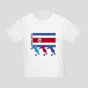 Costa Rica Soccer Toddler T-Shirt
