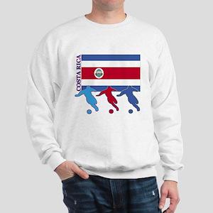 Costa Rica Soccer Sweatshirt