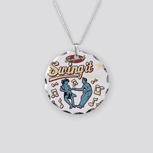 Swing It Again! Necklace Circle Charm