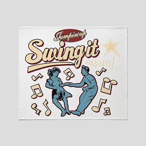 Swing It Again! Throw Blanket