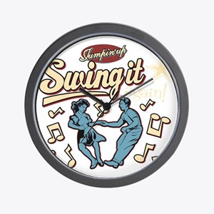 Swing It Again! Wall Clock