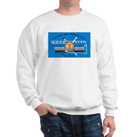 Cheyenne Arapaho Flag Sweatshirt