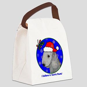 bedlingtonterrierxmas-shirt Canvas Lunch Bag