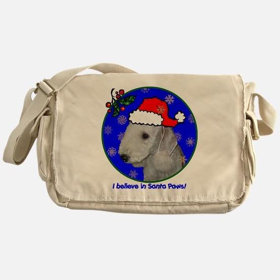bedlingtonterrierxmas-shirt Messenger Bag