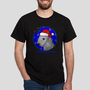 bedlingtonterrierxmas-shirt Dark T-Shirt