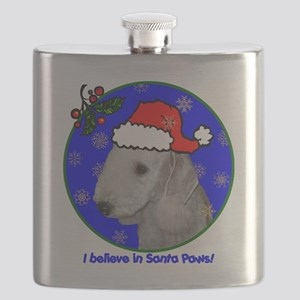 bedlingtonterrierxmas-shirt Flask