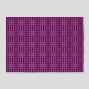 Meshed (Pink) 5'x7'Area Rug