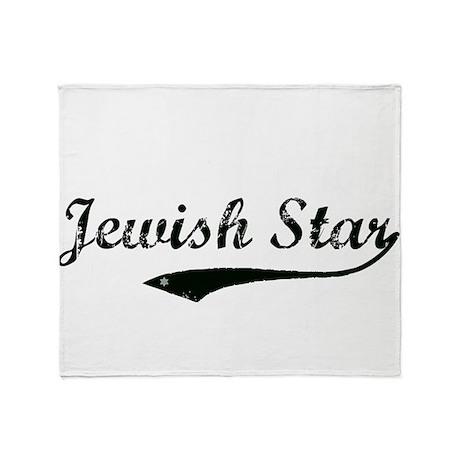 Jewish Star Throw Blanket