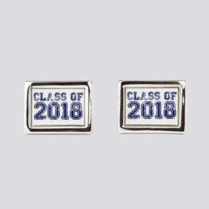 Class of 2018 Rectangular Cufflinks