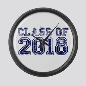 Class of 2018 Large Wall Clock