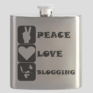 Peace Love Blogging Flask