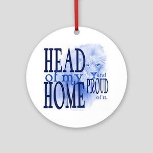 10x10_HOH_a3_blue Round Ornament