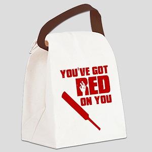 YouveGotRedOnYou Canvas Lunch Bag