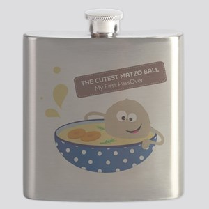 The cutest matzo ball-my first passover Flask