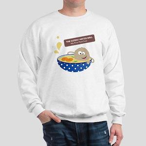 The cutest matzo ball-my first passover Sweatshirt