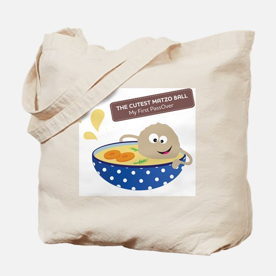 The cutest matzo ball-my first passover Tote Bag