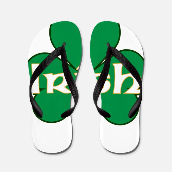 IRISH-SHAMROCK-LARGE-VECTOR Flip Flops