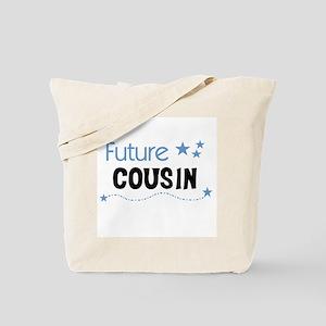 Future Cousin (blue) Tote Bag