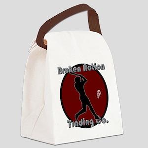 bnbaseballred Canvas Lunch Bag