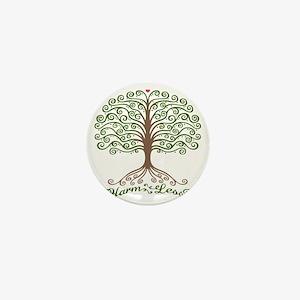 harm-less-tree-T Mini Button