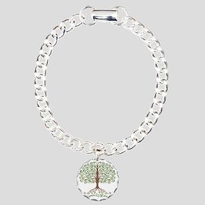 harm-less-tree-T Charm Bracelet, One Charm
