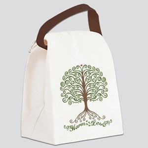 harm-less-tree-T Canvas Lunch Bag