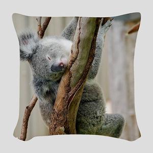 Koala6 HIRES Woven Throw Pillow